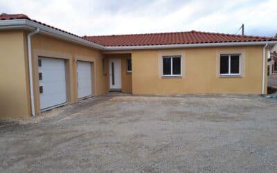 Maîtrise d'Oeuvre pour Construction d'une maison de plain-pied en T – Montbrison