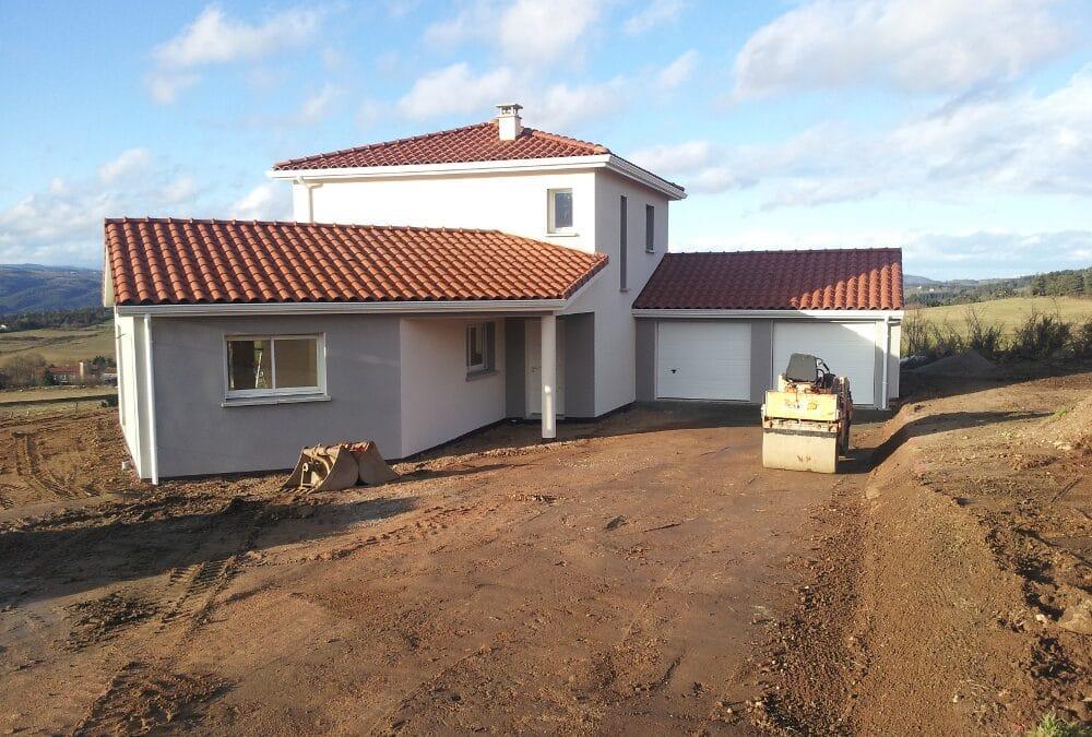 Maîtrise d'Oeuvre pour Construction d'une maison à étage – Monistrol sur Loire