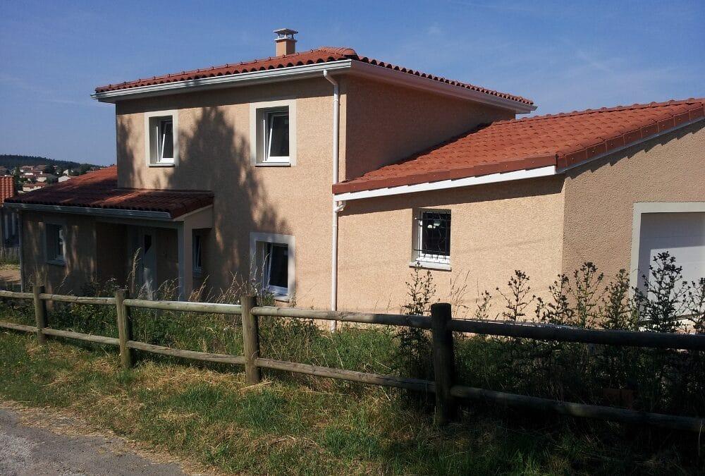 Maîtrise d'Oeuvre pour Construction d'une maison à étage – Saint Just Malmont