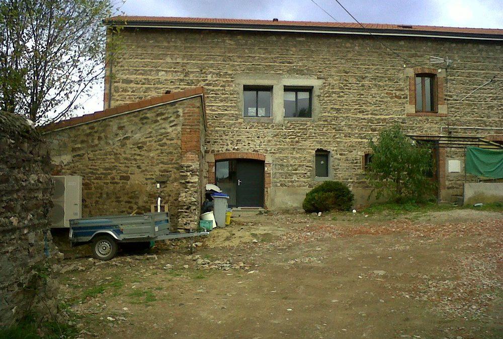 Maîtrise d'Oeuvre pour Rénovation d'une Grange en habitation – Saint Just Saint Rambert
