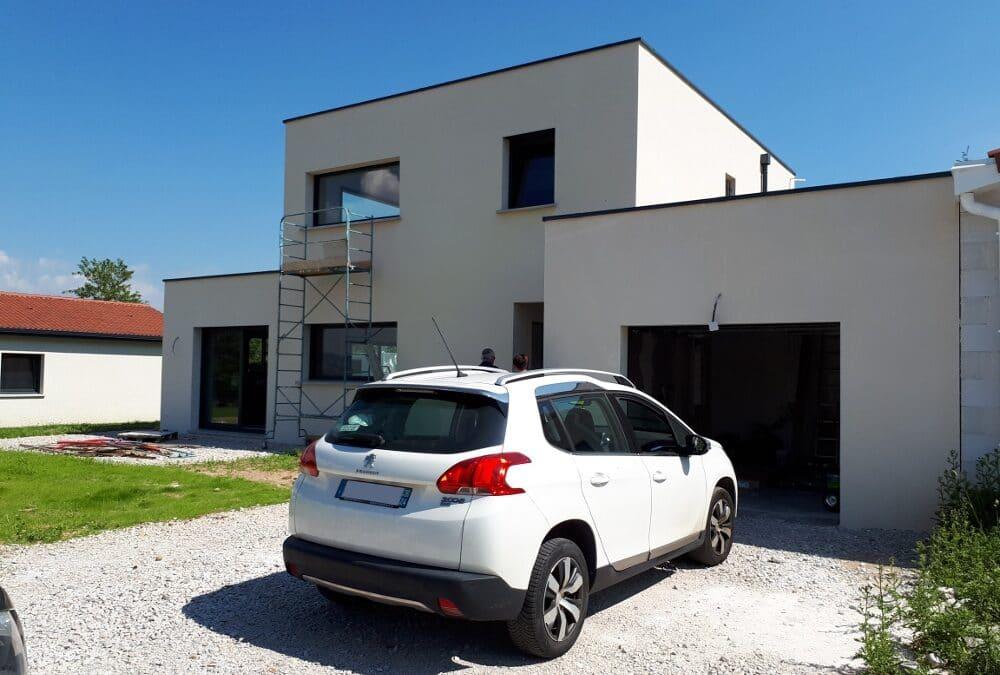 Maîtrise d'Oeuvre pour Construction d'une maison moderne à étage – Monistrol sur Loire