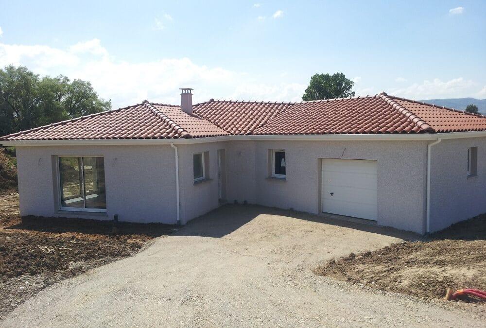 Maîtrise d'Oeuvre pour Construction d'une maison de plain-pied – Rive de Gier