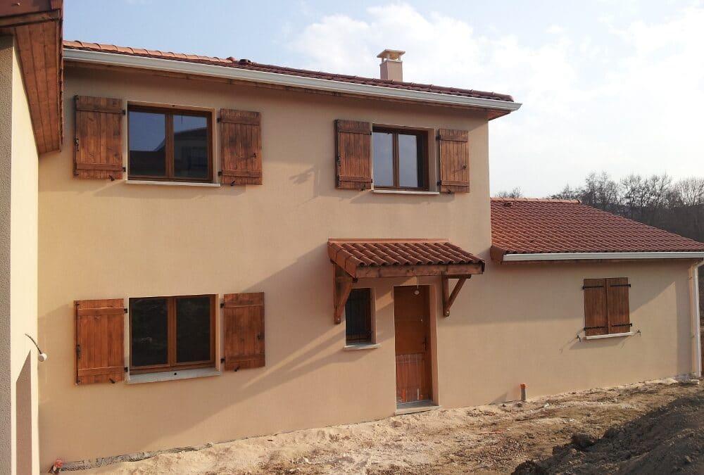 Maîtrise d'Oeuvre pour Construction d'une maison à étage – Champdieu