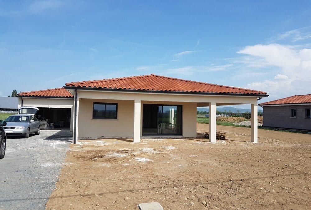 Maîtrise d'Oeuvre pour Construction d'une maison de plain-pied en Y – Marclopt