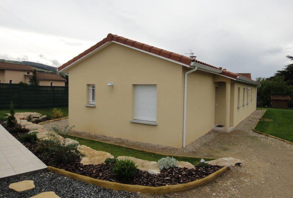 Maîtrise d'Oeuvre pour Construction d'une maison de plain-pied – Saint Paul en Jarez