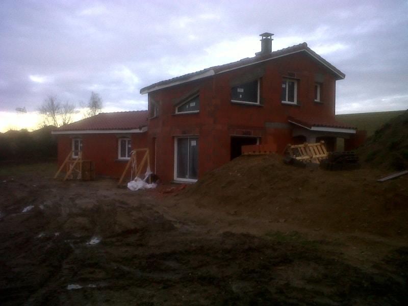 Maîtrise d'Oeuvre pour Construction d'une maison hors d'eau hors d'air – Saint Just Malmont