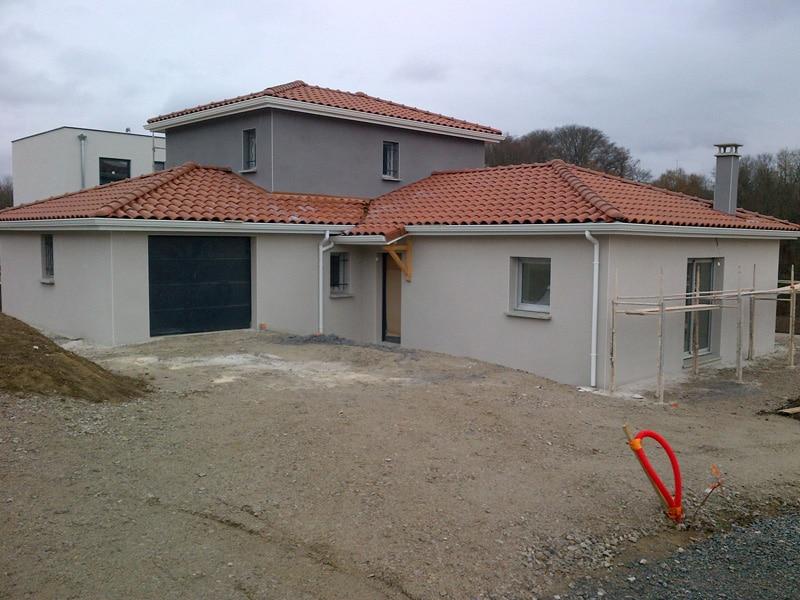 Maîtrise d'Oeuvre pour Construction d'une maison à étage – Saint Victor sur Loire » Bécizieux»