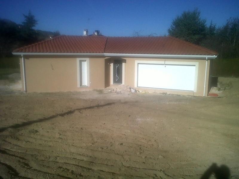 Maîtrise d'Oeuvre pour Construction d'une maison plain-pied – Luriecq