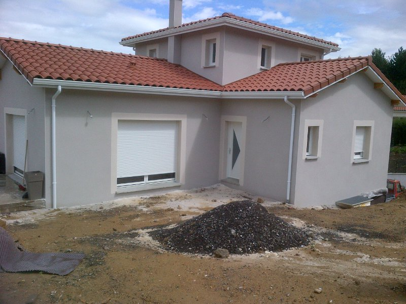 Maîtrise d'Oeuvre pour Construction d'une maison sur sous-sol – Unieux