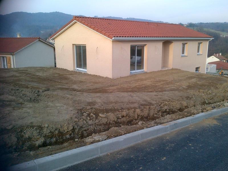 Maîtrise d'Oeuvre pour Construction d'une maison sur sou-sol – Unieux