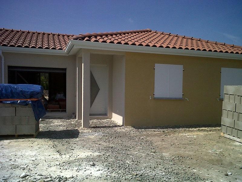 Maîtrise d'Oeuvre pour Construction de deux maisons jumelées – Saint Marcellin en Forez