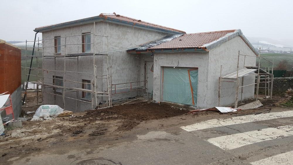 Maîtrise d'Oeuvre pour Construction d'une maison à étage inversé – Saint Chamond