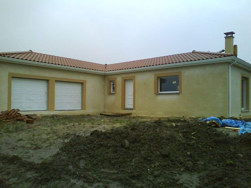 Maîtrise d'Oeuvre pour Construction d'une maison de plain-pied – Margerie Chantagret