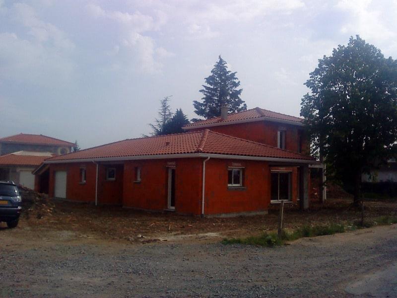 Maîtrise d'Oeuvre pour Construction d'une maison avec terrasse couverte et balcon – Rivas