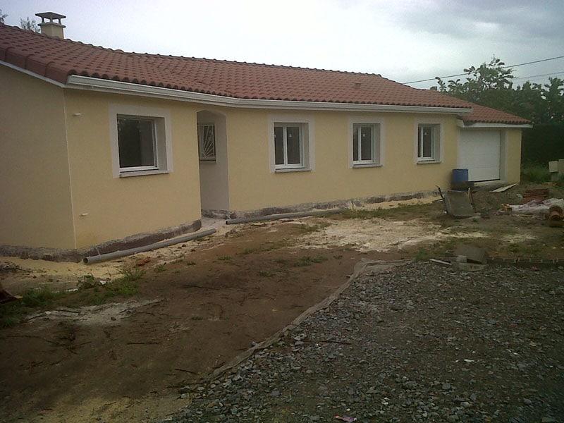 Maîtrise d'Oeuvre pour Construction d'une maison de plain-pied – Saint Georges Haute Ville