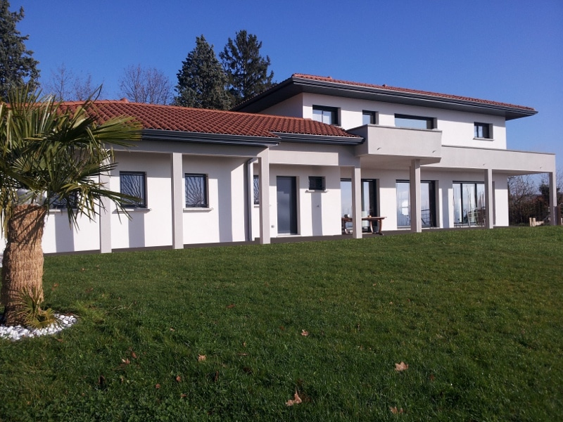 Maîtrise d'Oeuvre pour Construction d'une maison moderne – Saint Galmier