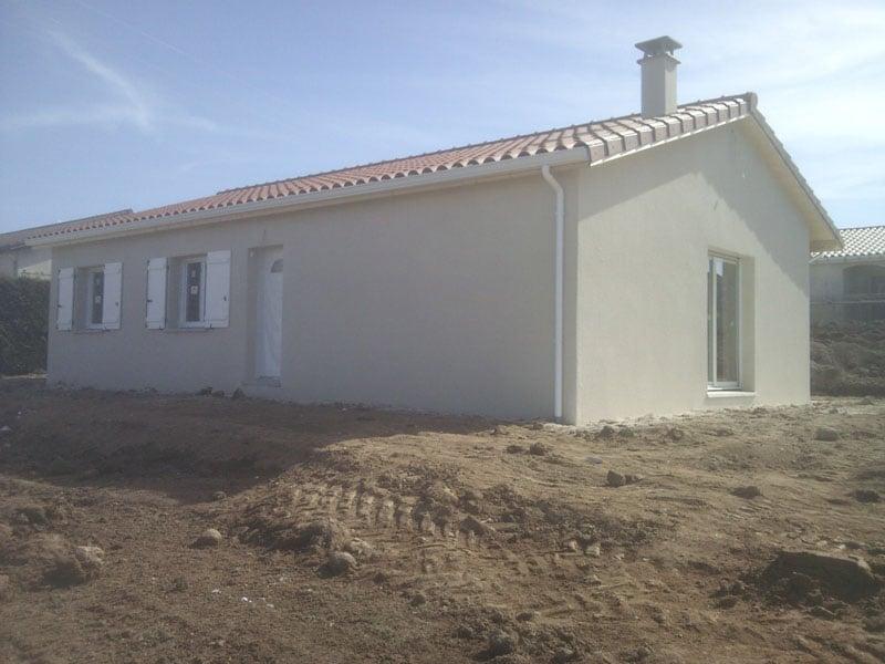 Maîtrise d'Oeuvre pour Construction d'une maison de plain-pied – Saint Maurice en Gourgois