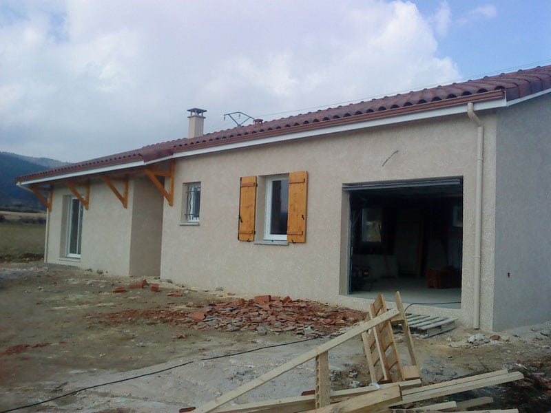 Maîtrise d'Oeuvre pour Construction d'une maison de plain-pied – Luriecq