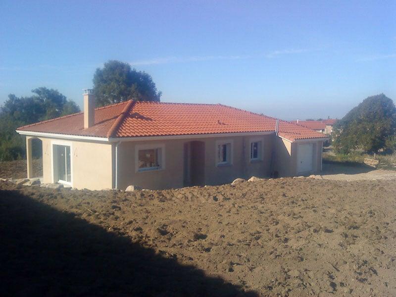 Maîtrise d'Oeuvre pour Construction d'une maison de plain-pied – Périgneux