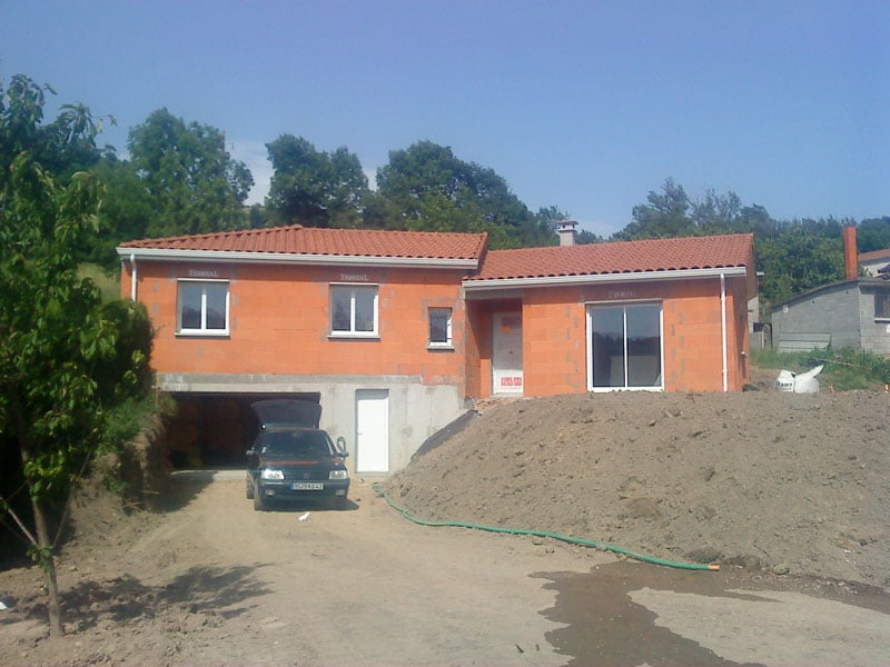 Maîtrise d'Oeuvre pour Construction d'une maison hors d'eau hors d'air – Firminy