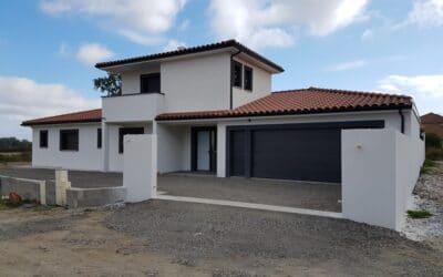 Maîtrise d'Oeuvre pour Construction d'une maison contemporaine avec pool house et piscine – Montbrison