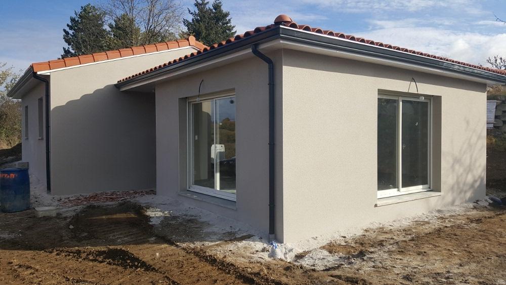 Maîtrise d'Oeuvre pour Construction d'une maison de plain-pied – Aveizieux