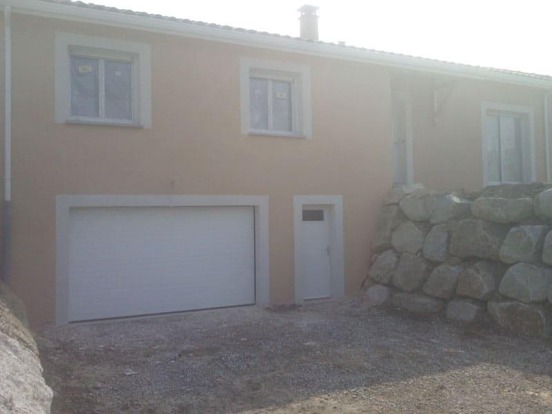 Maîtrise d'Oeuvre pour Construction d'une maison sur demi sous-sol – Firminy