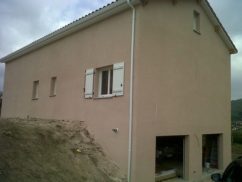 Maîtrise d'Oeuvre pour Construction d'une maison sur sous-sol avec comble aménageable – Unieux