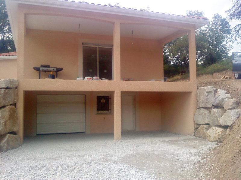 Maîtrise d'Oeuvre pour Construction d'une maison sur sous-sol – Chambon Feugerolles
