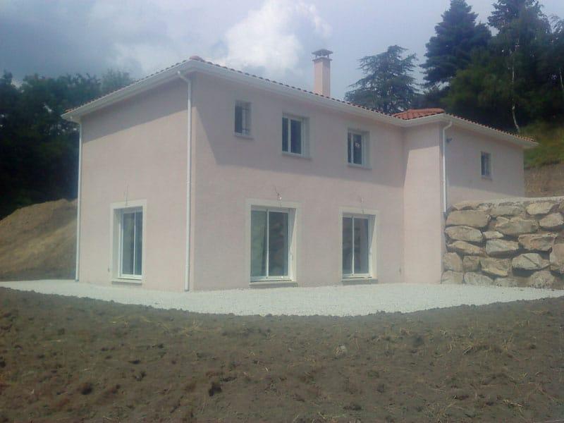 Maîtrise d'Oeuvre pour Construction d'une maison à étage – Chambon Feugerolles