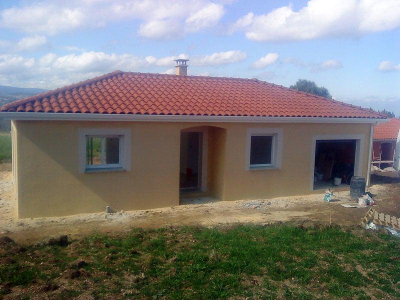 Maîtrise d'Oeuvre pour Construction d'une maison plain-pied – Périgneux