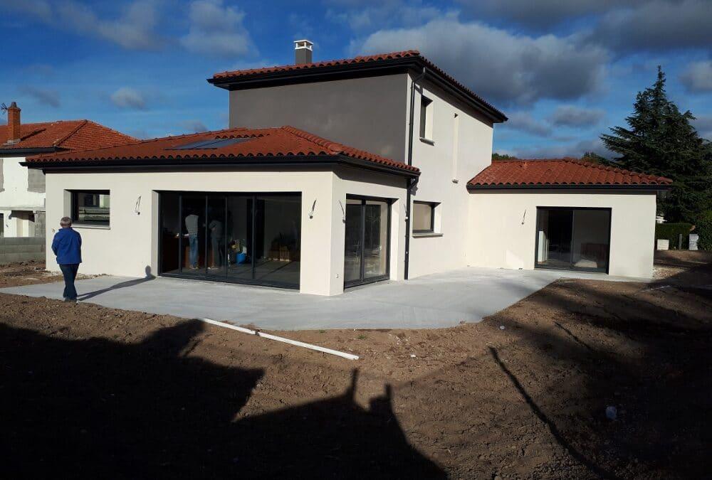 Maîtrise d'Oeuvre pour Construction d'une maison moderne à étage – Saint Bonnet les Oules