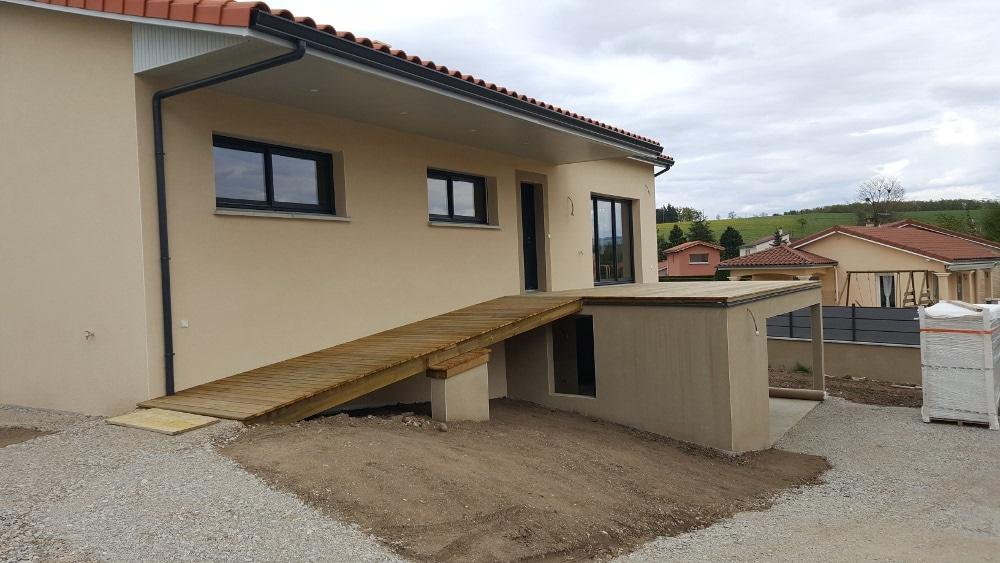 Maîtrise d'Oeuvre pour Construction d'une maison sur sous-sol complet – Saint Victor sur Loire