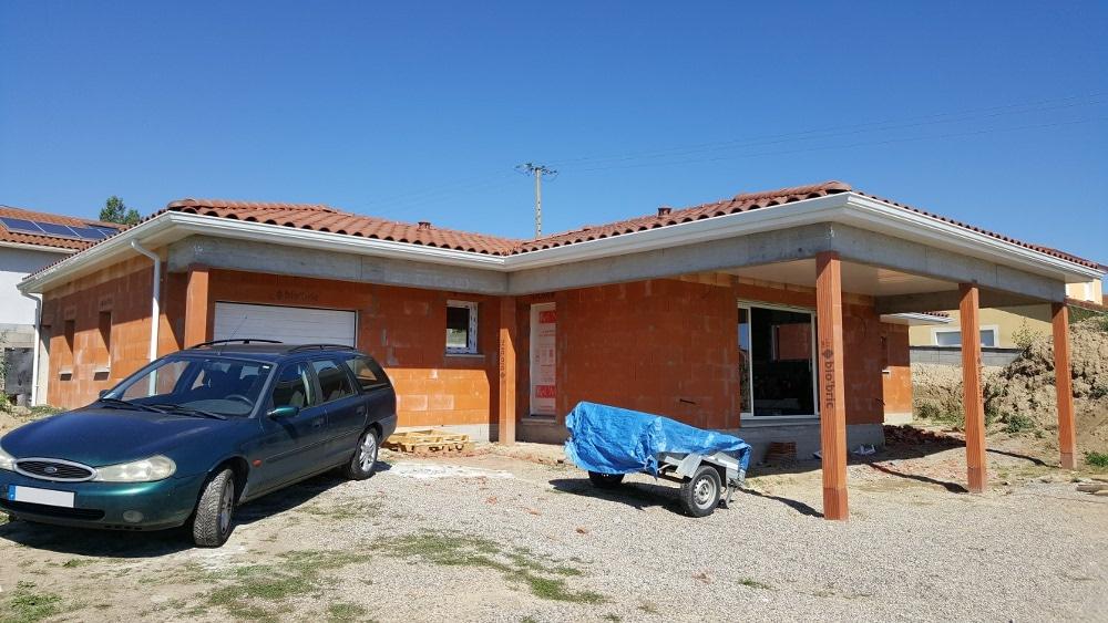 Maîtrise d'Oeuvre pour Construction d'une maison de plain-pied – Saint Romain le Puy