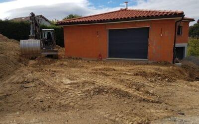Maîtrise d'Oeuvre pour Construction d'une maison de sur demi sous-sol – Saint Christo en jarez