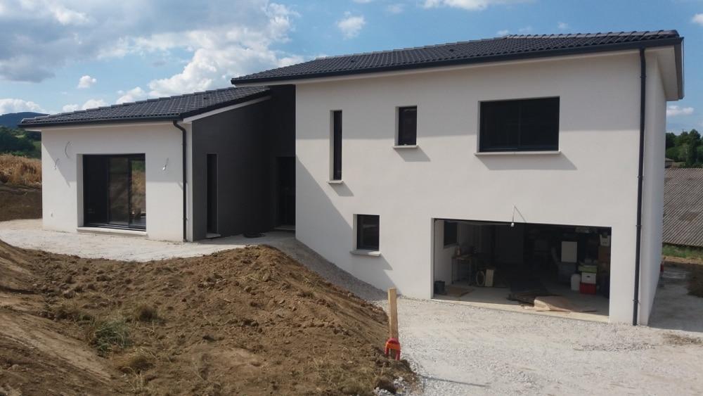 Maîtrise d'Oeuvre pour Construction d'une maison sur demi sous-sol – L'Horme