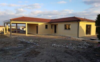 Maîtrise d'Oeuvre pour Construction d'une maison de plain-pied en L – Montbrison