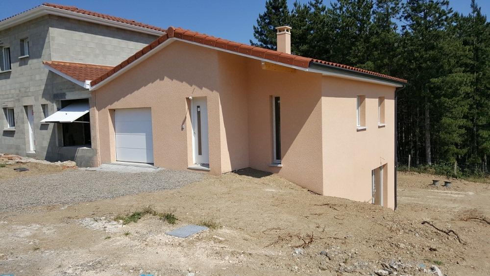 Maîtrise d'Oeuvre pour Construction d'une maison à niveau inversé – Tartaras