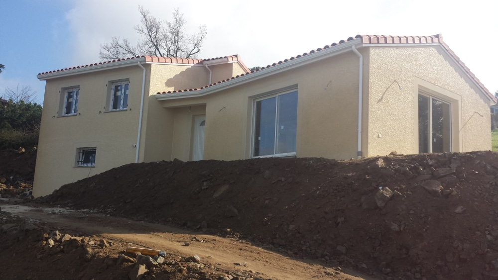 Maîtrise d'Oeuvre pour Construction d'une maison sur demi sous-sol – Saint Héand
