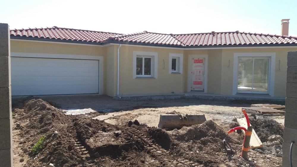 Maîtrise d'Oeuvre pour Construction d'une maison de plain-pied en V – Craintilleux