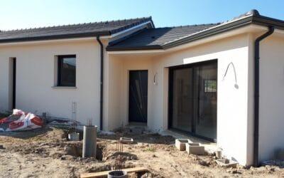 Maîtrise d'Oeuvre pour Construction d'une maison de plain-pied en V – L'Horme
