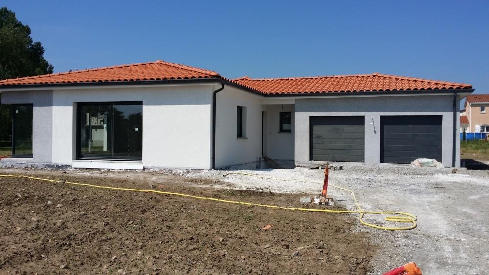 Maîtrise d'Oeuvre pour Construction d'une maison moderne de plain-pied – Veauchette
