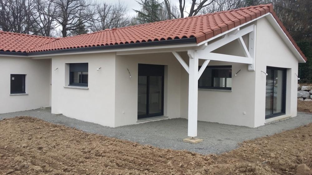 Maîtrise d'Oeuvre pour Construction d'une maison de plain-pied en T – Chamboeuf
