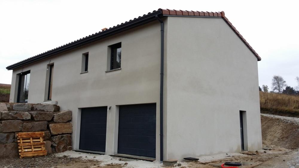 Maîtrise d'Oeuvre pour Construction d'une maison sur demi sous-sol – Saint Didier en Velay