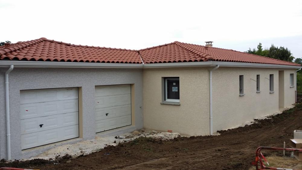 Maîtrise d'Oeuvre pour Construction d'une maison de plain-pied – Saint Just Saint Rambert