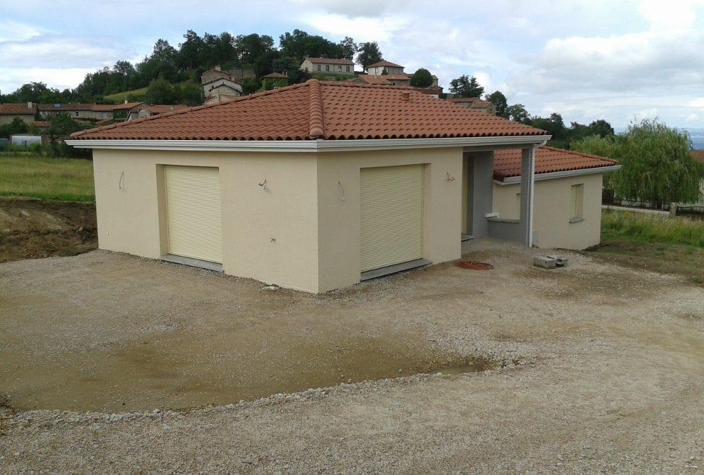 Maîtrise d'Oeuvre pour Construction d'une maison sur deux niveaux – Lavieux