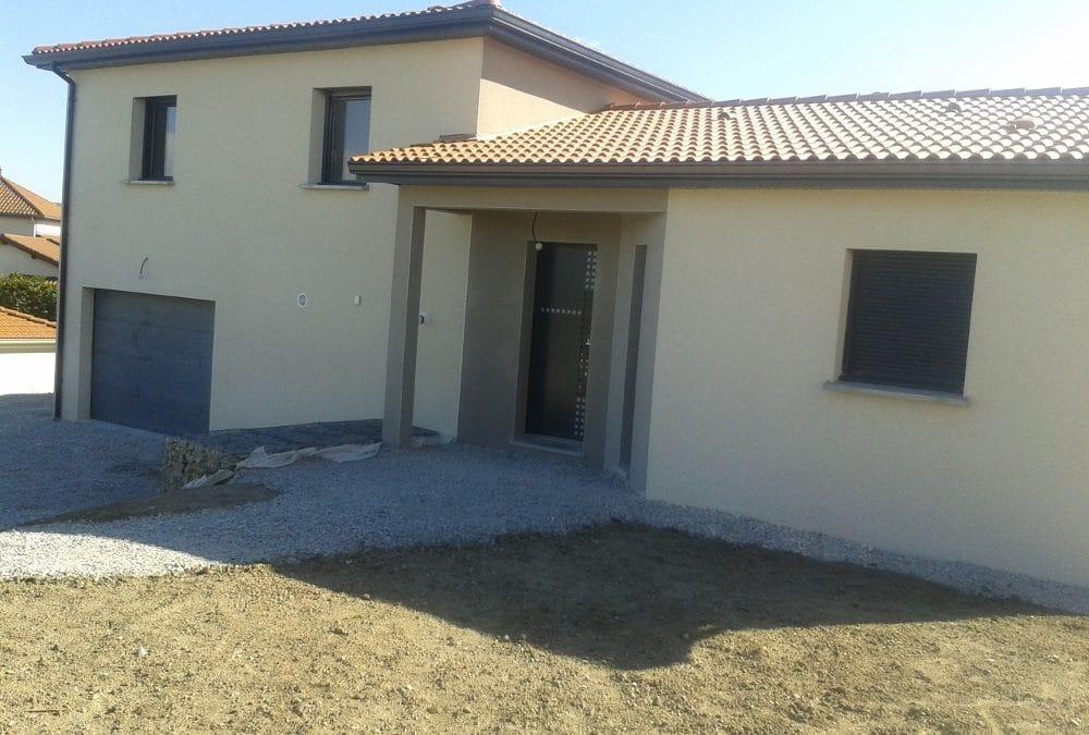 Maîtrise d'Oeuvre pour Construction d'une maison sur sous-sol – Saint Victor sur Loire
