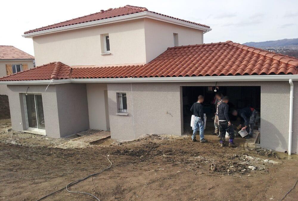 Maîtrise d'Oeuvre pour Construction d'une maison à étage – Rive de Gier