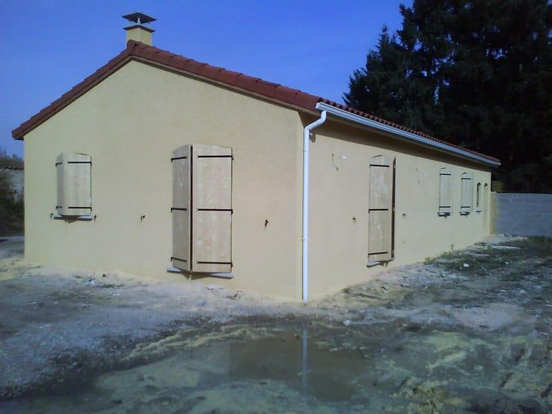 Maîtrise d'Oeuvre pour Construction d'une maison de plain-pied – Bonson