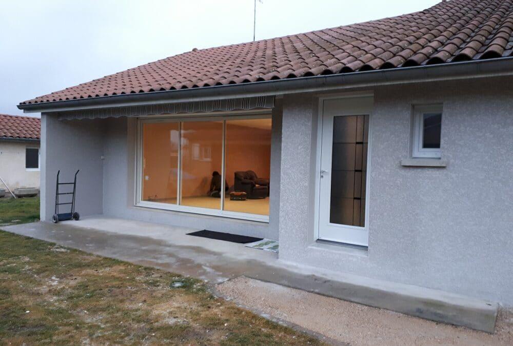 Maîtrise d'Oeuvre pour la Rénovation d'une maison – Motrond les Bains